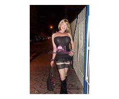 Trans Teramo Letizia Rabbit stupenda bionda sexy a Martinsicuro